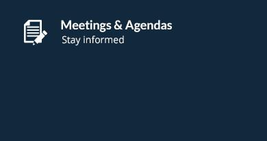 Meetings-Agendas